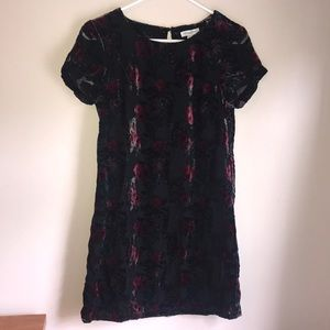 Carolina Belle Short Sleeve Floral Dress